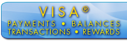 link to learn about visa payments balances, rewards, and transactions